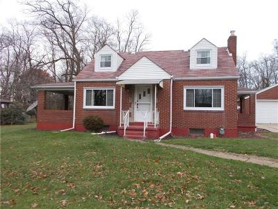 Westmoreland County Single Family Home For Sale: 832 Rebecca St