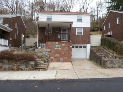Swissvale Single Family Home For Sale: 2681 Woodstock Ave
