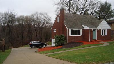 North Huntingdon Single Family Home For Sale: 3241 Coulterville Road