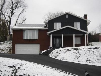 North Huntingdon Single Family Home For Sale: 13650 Ridge Road