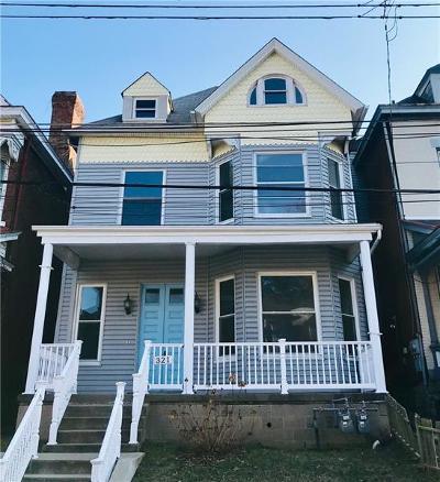 Shadyside Single Family Home For Sale: 321 Spahr St