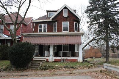 Wilkinsburg Single Family Home For Sale: 335 Pitt Street