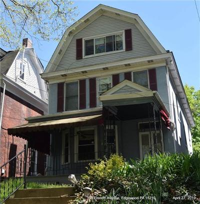 Edgewood Single Family Home For Sale: 109 Lincoln Avenue