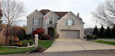 Bethel Park Single Family Home Active Under Contract: 5523 Steeplechase Court