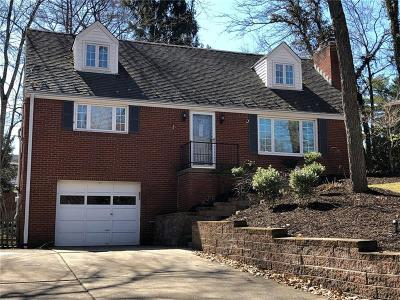 Upper St. Clair Single Family Home For Sale: 229 Brookside