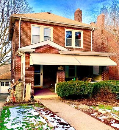 Swissvale Single Family Home For Sale: 7239 Princeton Pl