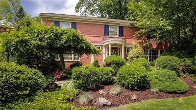 Mt. Lebanon Single Family Home For Sale: 820 Elm Spring Road