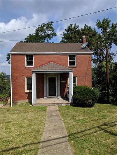 Wilkinsburg Single Family Home For Sale: 1317 Graham Blvd