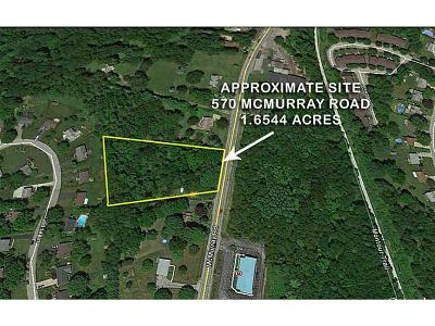 Bethel Park Residential Lots & Land For Sale: 570 McMurray Road