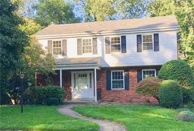 Wilkins Twp Single Family Home Contingent: 129 Penhurst Drive
