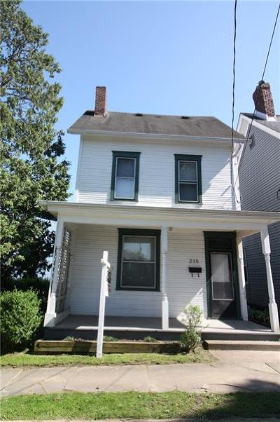 City Of Greensburg PA Single Family Home For Sale: $59,900