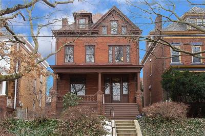 Regent Square Single Family Home For Sale: 403 West