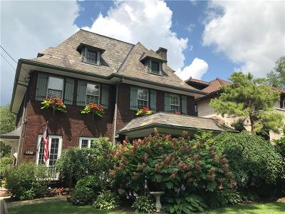 Squirrel Hill Single Family Home Active Under Contract: 1336 Squirrel Hill Ave