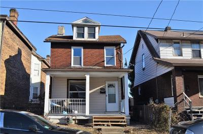 Swissvale Single Family Home For Sale: 7526 Dickson St