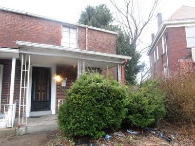 Swissvale Single Family Home For Sale: 7341 Schley Ave