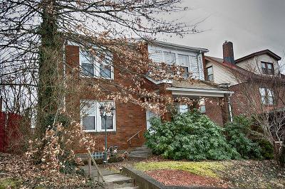 Swissvale Single Family Home For Sale: 2108 Hudson