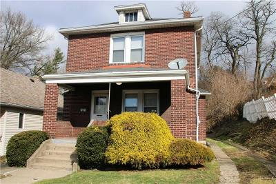 Swissvale Single Family Home For Sale: 2225 Lacrosse St