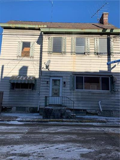 Central North Side PA Single Family Home For Sale: $99,900