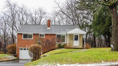 Mt. Lebanon Single Family Home Active Under Contract: 683 Oxford Blvd.