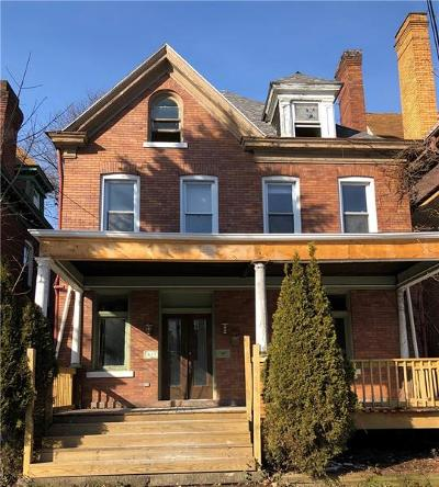 Regent Square Single Family Home For Sale: 417 Whitney Ave