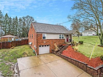 North Huntingdon Single Family Home For Sale: 460 Robbins Station Rd