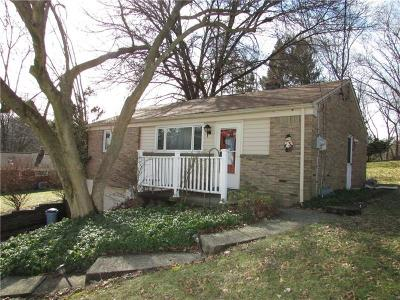 Bethel Park Single Family Home Active Under Contract: 5590 Clarene Dr