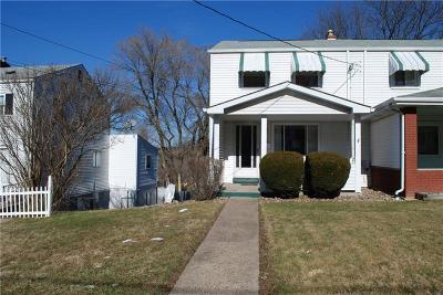 Jeannette Single Family Home For Sale: 312 Cedar St