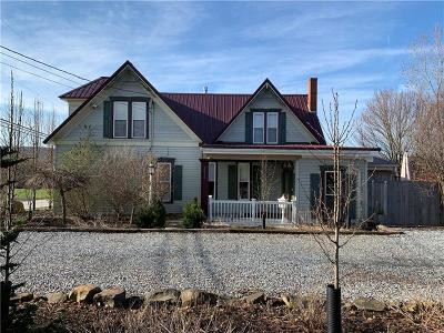 Somerset/Cambria County Single Family Home For Sale: 2636 Huckleberry Hwy