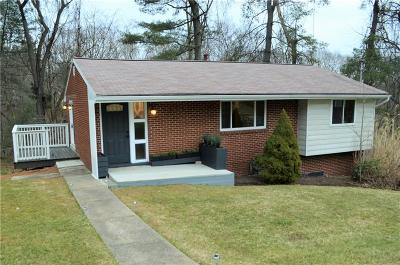 Wilkins Twp Single Family Home For Sale: 230 Harrison Rd