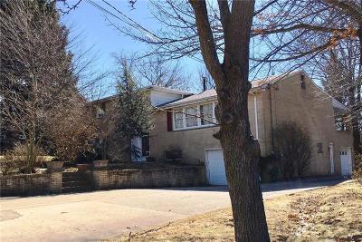 Penn Hills Single Family Home Contingent: 6939 Shannon