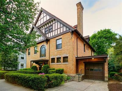 Squirrel Hill Single Family Home For Sale: 5529 Dunmoyle St