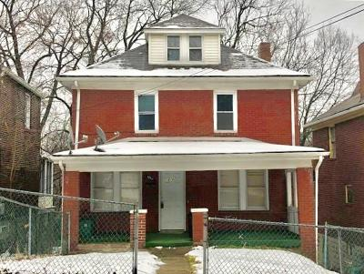Wilkinsburg Single Family Home For Sale: 1210 Sherman Street