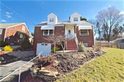 Single Family Home For Sale: 313 McClelland Rd