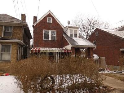 Wilkinsburg Single Family Home For Sale: 757 Princeton Blvd