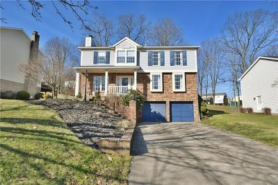 Bethel Park Single Family Home Active Under Contract: 112 Amberwood Court