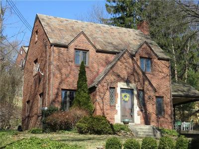 Mt. Lebanon Single Family Home Active Under Contract: 190 Inglewood Drive