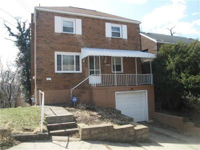 Swissvale Single Family Home For Sale: 2306 Buena Vista
