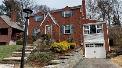 Mt. Lebanon Single Family Home For Sale: 15 Iroquois Drive