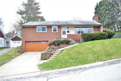 Mt. Lebanon Single Family Home For Sale: 857 Chalmers Place