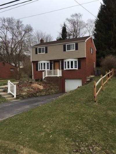 Bethel Park Single Family Home Active Under Contract: 3117 Greenwald Rd