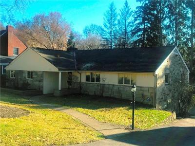 Mt. Lebanon Single Family Home For Sale: 24 Woodland Dr