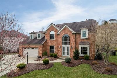 Bethel Park Single Family Home Active Under Contract: 5530 Saddlebrook Dr