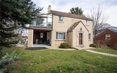 Mt. Lebanon Single Family Home For Sale: 780 Scott
