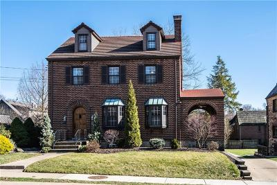 Mt. Lebanon Single Family Home Active Under Contract: 427 Arden Road