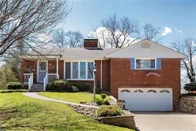 Mt. Lebanon Single Family Home Active Under Contract: 414 Summit Dr
