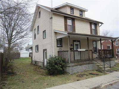 Somerset Boro Single Family Home For Sale: 513 S Ankeny Ave