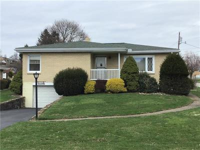 Greensburg, Hempfield Twp - Wml Single Family Home For Sale: 304 Hacke Lane