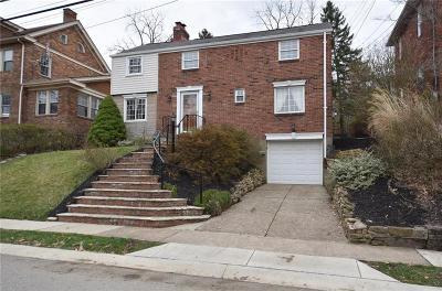 Mt. Lebanon Single Family Home For Sale: 140 Rae Avenue