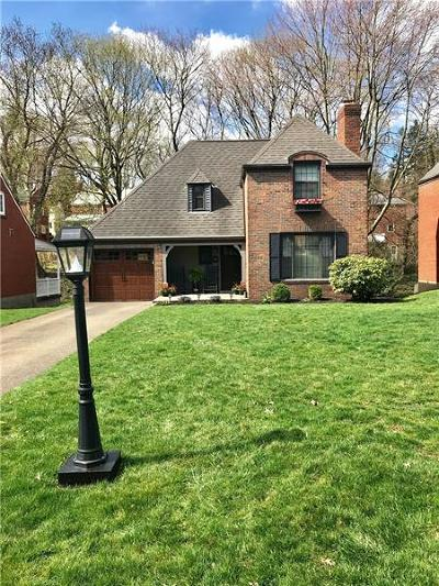 Mt. Lebanon Single Family Home Active Under Contract: 464 Salem Dr