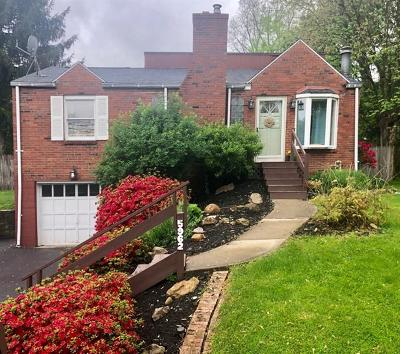 Bethel Park Single Family Home Active Under Contract: 5962 Wallace Ave